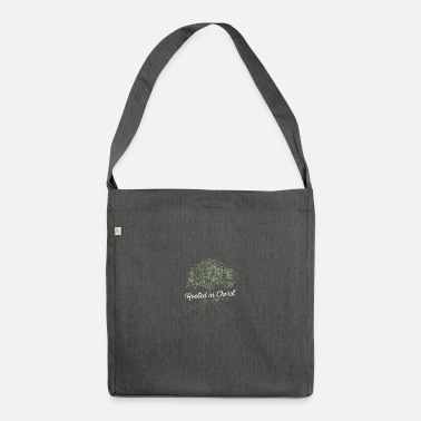 Rooted in Christ - Shoulder Bag recycled