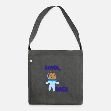 Space, baby 1 - Shoulder Bag recycled