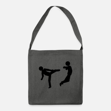 Cool slapping - Shoulder Bag recycled