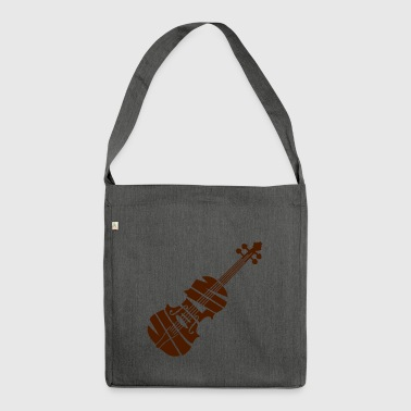 Violin - Shoulder Bag made from recycled material