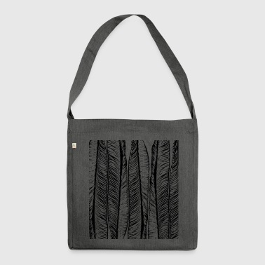 Abstract pattern - Shoulder Bag made from recycled material