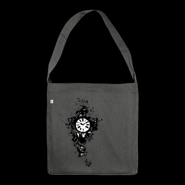 Clock - Shoulder Bag made from recycled material