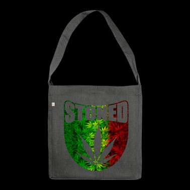 Stoned Rasta - Shoulder Bag made from recycled material