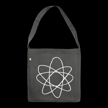 Atom - Schultertasche aus Recycling-Material