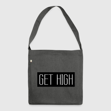 Get High Black 001 AllroundDesigns - Shoulder Bag made from recycled material