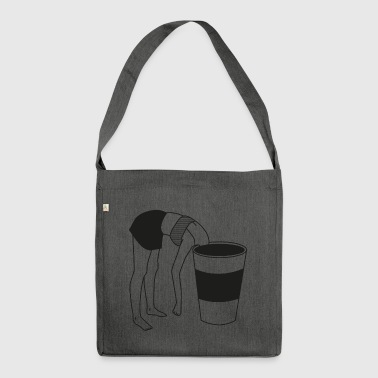COFFE BREAK - Shoulder Bag made from recycled material
