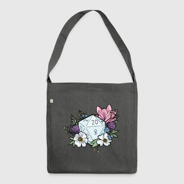 DUNGEONS 'n' FLOWERS - Shoulder Bag made from recycled material