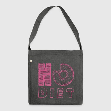 NO DIET - Shoulder Bag made from recycled material