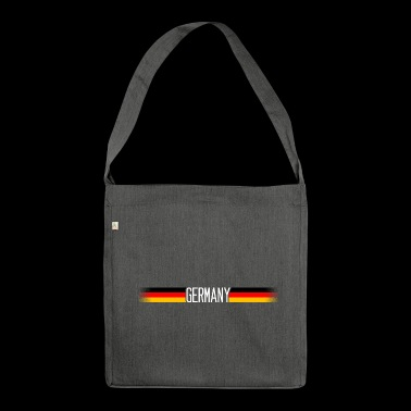 Germany Flag / Banner 006 - Shoulder Bag made from recycled material
