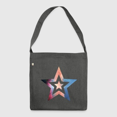 Star Helix - Shoulder Bag made from recycled material