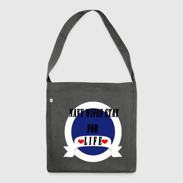 NAVY WIFE - Shoulder Bag made from recycled material