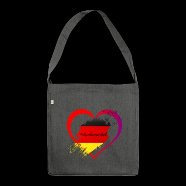 thank merkel - Shoulder Bag made from recycled material