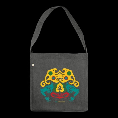Borneo Mask - Shoulder Bag made from recycled material