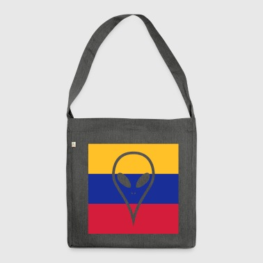Ecuador country in South America Alien - Shoulder Bag made from recycled material