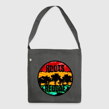 roots reggae0711 - Schultertasche aus Recycling-Material