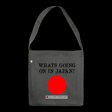 Weird Japan - Shoulder Bag made from recycled material