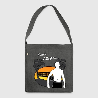 Beach Volley - Schultertasche aus Recycling-Material