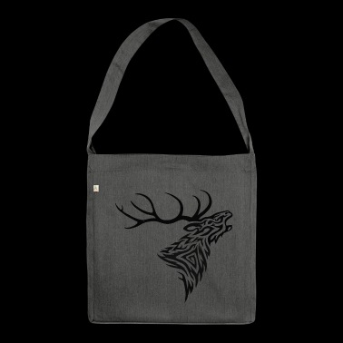 Roaring Stag - Shoulder Bag made from recycled material