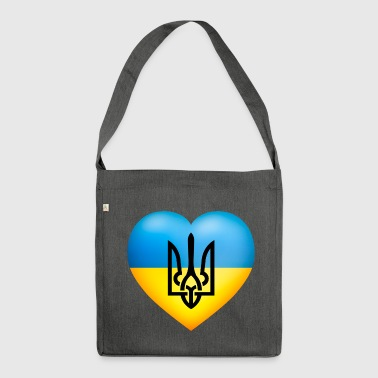 Україна / Ukraine flag - Shoulder Bag made from recycled material