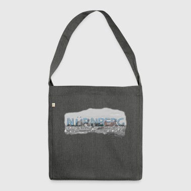 Nuremberg from favorite region (skyline) - Shoulder Bag made from recycled material