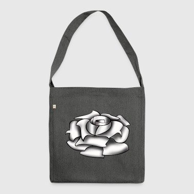 Rose white - Shoulder Bag made from recycled material