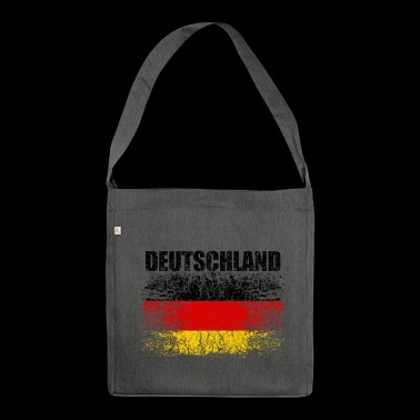 Germany Flag 008 - Shoulder Bag made from recycled material