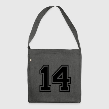 14 - Rugby Style Sportswear - Jersey Shirt Design - Borsa in materiale riciclato