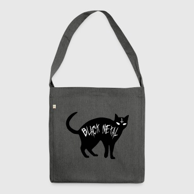 Cat Black Metal - Black Cat metallo - Borsa in materiale riciclato