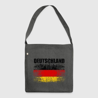 Germany flag 008 AllroundDesigns - Shoulder Bag made from recycled material