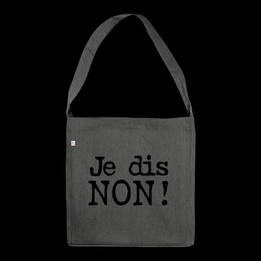 The NON! - Shoulder Bag made from recycled material