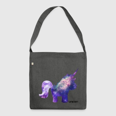UNICORN - UNHORSE - Shoulder Bag made from recycled material