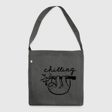chilling - Shoulder Bag made from recycled material