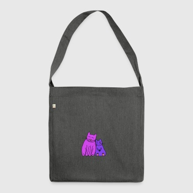 Cat and Mouse - Borsa in materiale riciclato