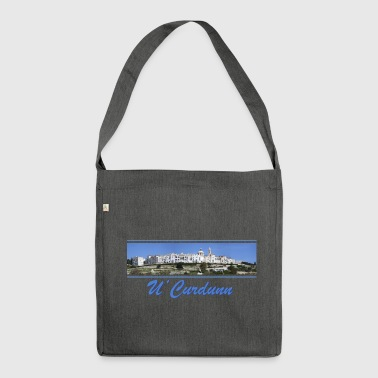 Locorotondo in dialect u'curdunn - Shoulder Bag made from recycled material