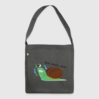 Snail - Shoulder Bag made from recycled material