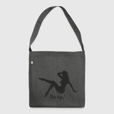 Pin Up! (H) - Schultertasche aus Recycling-Material
