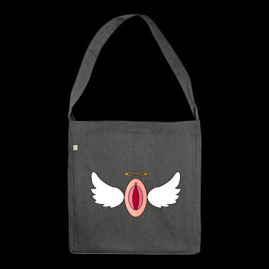 Flying pussy - Shoulder Bag made from recycled material