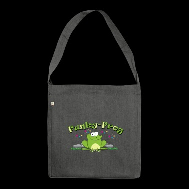 Funky Frog - the Funky Frog - Shoulder Bag made from recycled material