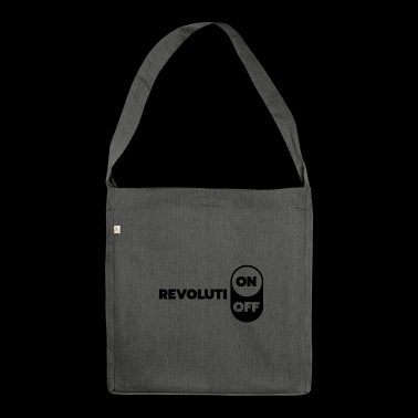 Revolution ON OFF - Shoulder Bag made from recycled material