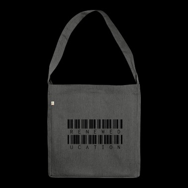 RENEW EDUCATION - Shoulder Bag made from recycled material