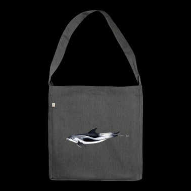 White-beaked dolphin - White beaked dolphin - Shoulder Bag made from recycled material