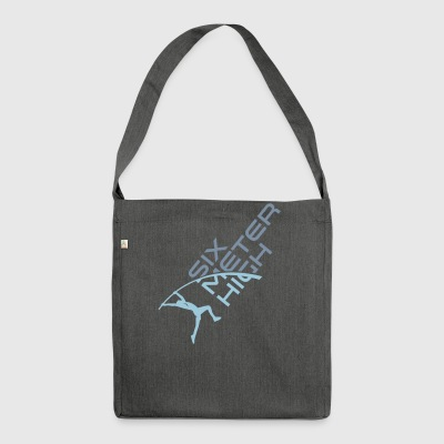 SIXMETERHIGH Logo - Shoulder Bag made from recycled material