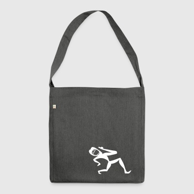 Sing and dance - Shoulder Bag made from recycled material