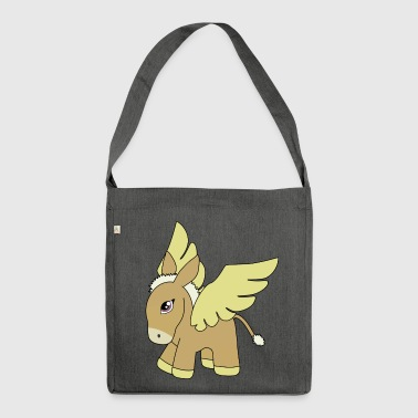Pegasus?! - Schultertasche aus Recycling-Material