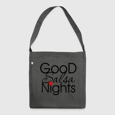 Good Salsa Nights - Dance Shirts - Shoulder Bag made from recycled material