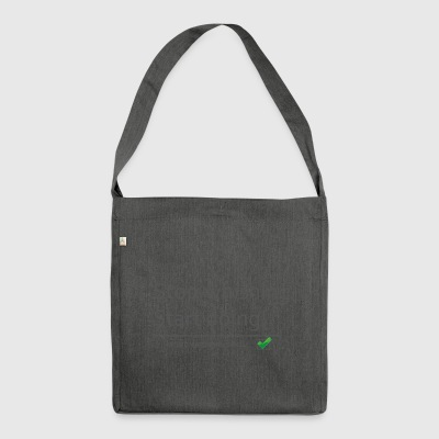 stopwishingstartdoing - Shoulder Bag made from recycled material