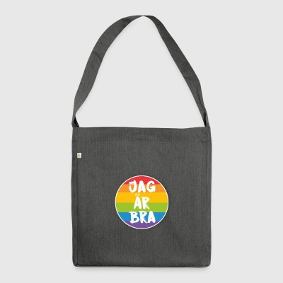 Sto bene - Borsa in materiale riciclato