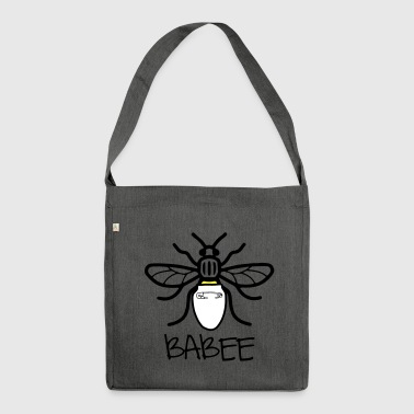 Manchester Babee - Shoulder Bag made from recycled material
