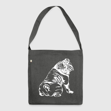 Bulldog Anglais - English Bulldog - Sac bandoulière 100 % recyclé
