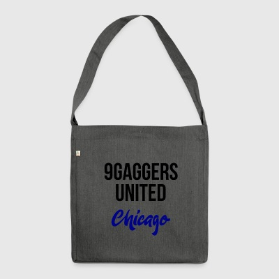 9gagger Chicago - Schultertasche aus Recycling-Material